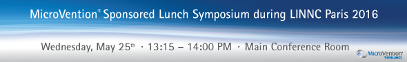 MicroVention' Sponsored Lunch Symposium during LINNC Paris 2016