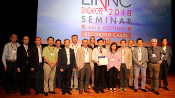 prize of the best oral communication of LINNC Asia 2018