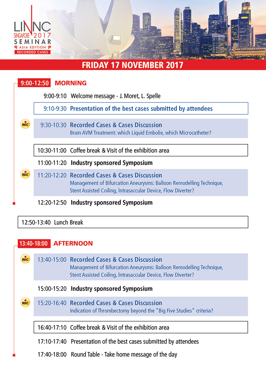Program LINNC Asia - Novembre 17, 2017