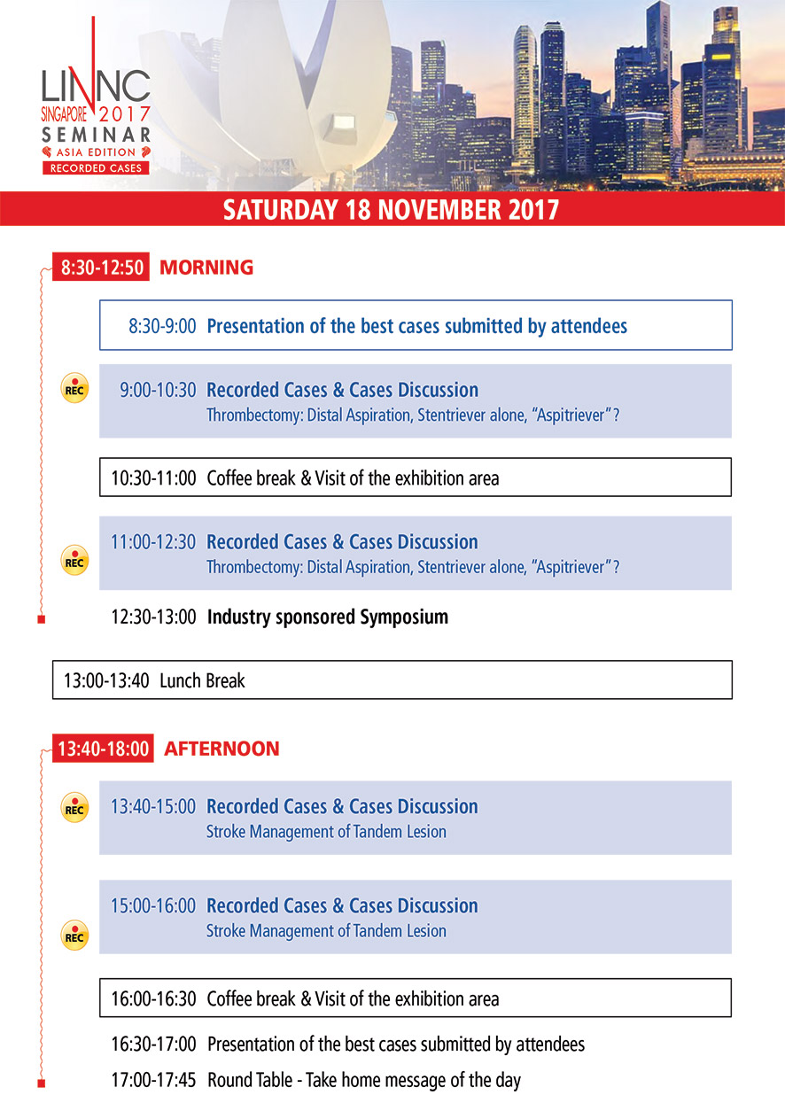 Program LINNC Asia - Novembre 18, 2017