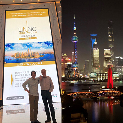 Jacques MORET and Laurent SPELLE at LINNC China 2019